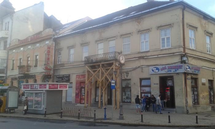 balcon centru vechi satu mare