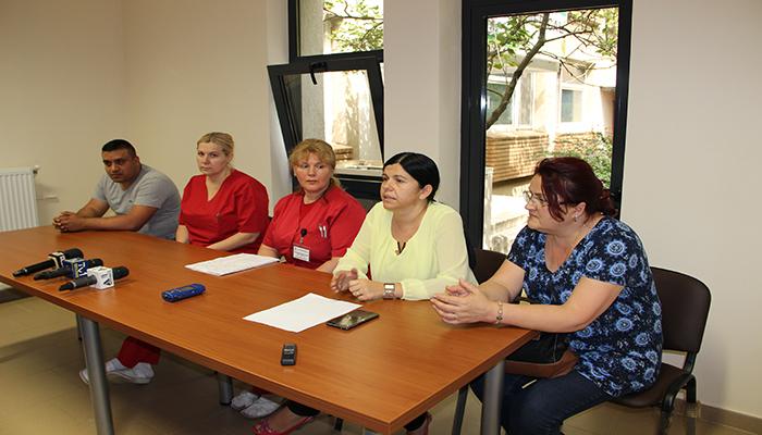 conducerea Spital Judetean si Unitatea de Primire Urgente Satu Mare