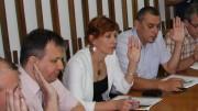 Consilierul Szejke Judit - foto mijloc