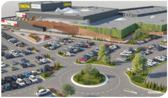 Noua machetă a proiectului Mega Mall al celor de la NEPI