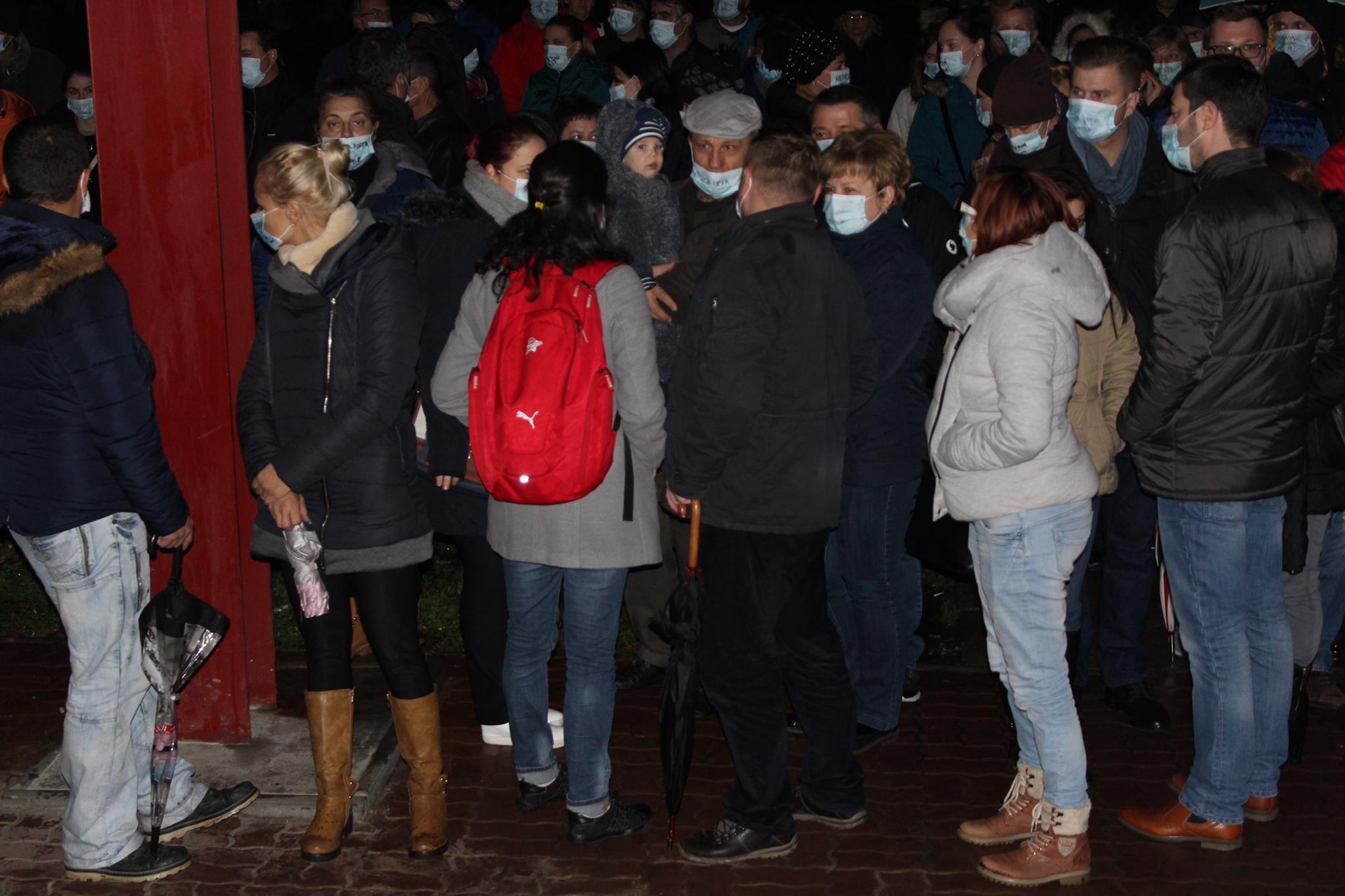 protest spitalul judetean satu mare