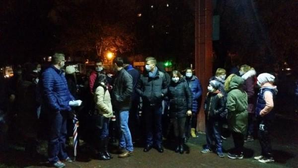 Primul protest la Spitalul Județean Satu Mare