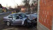 accident masina in casa (1)