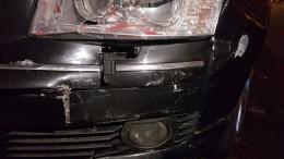 masina distrusa