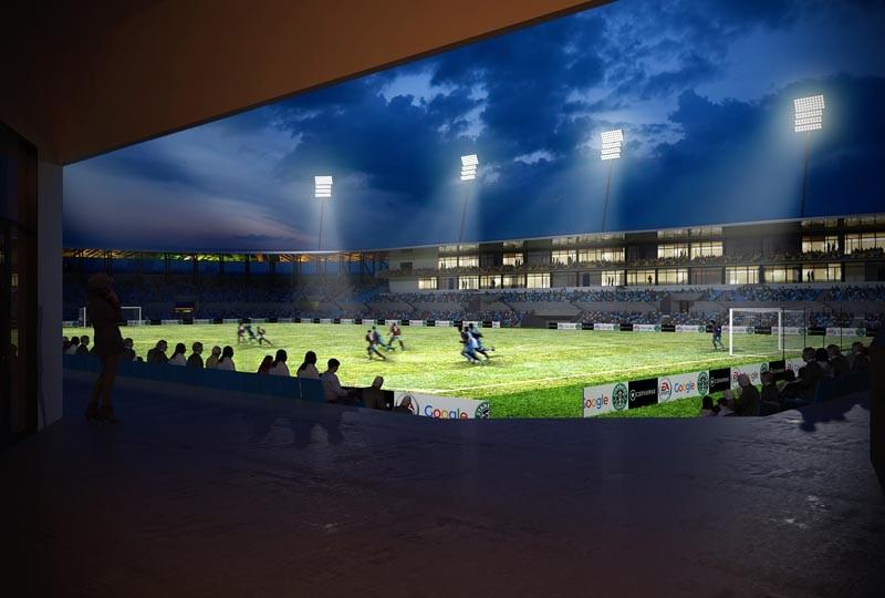 Așa ar putea arăta Stadionul Olimpia