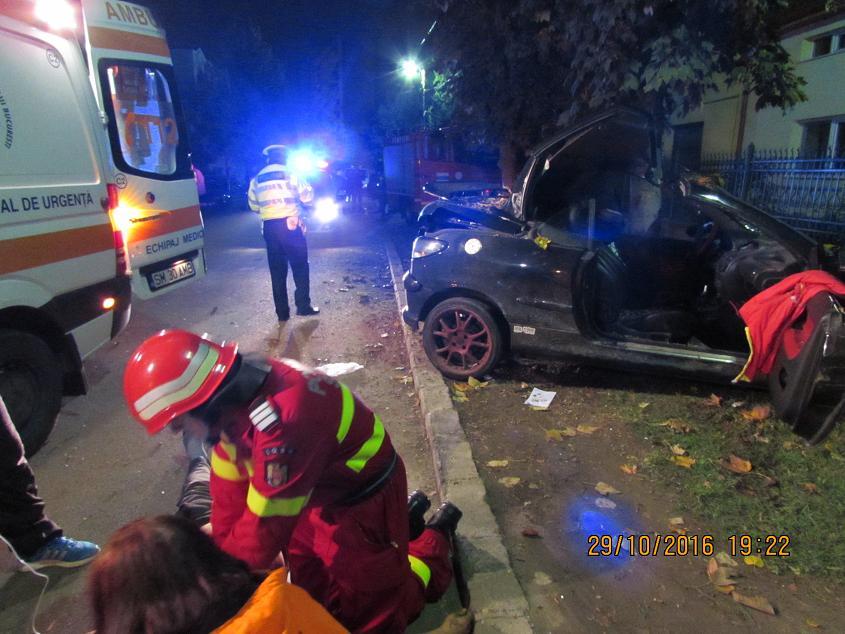 accident mortal satu mare noaptea