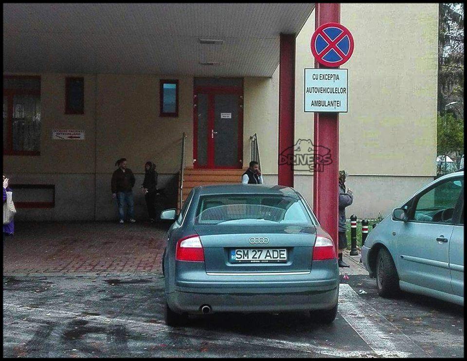 parcare ilegala in satu mare