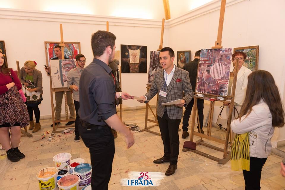 Reprezentantul Cristian Pașca i-a recompensat pe tinerii artiști