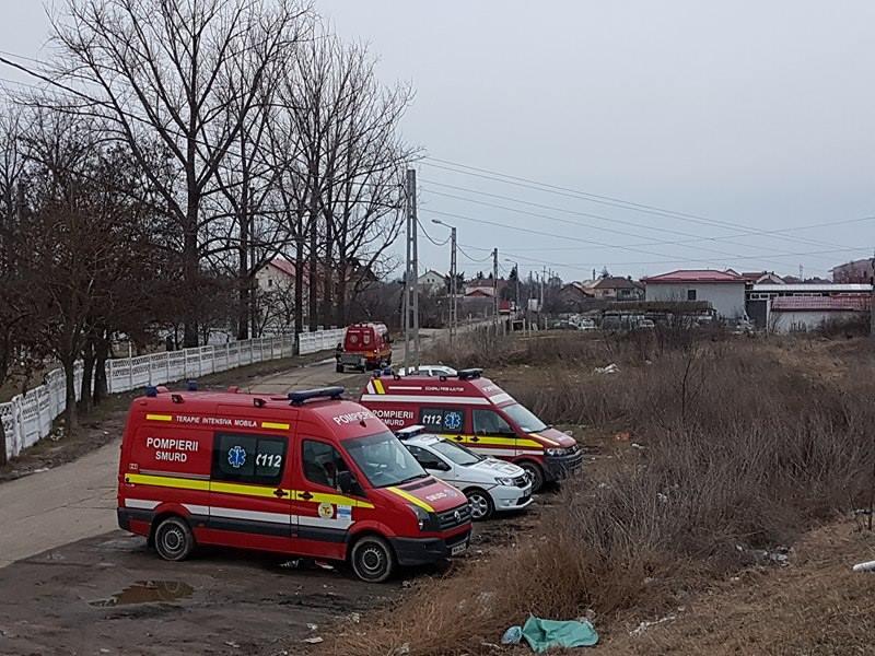 Trei bărbați au căzut în Someș
