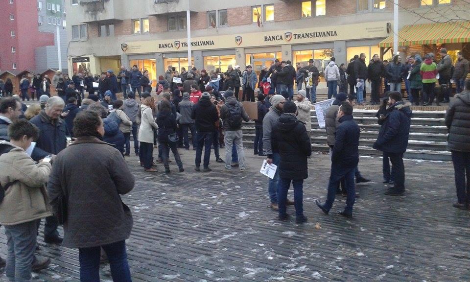 Protest la Satu Mare 1