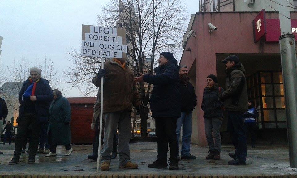 Protest la Satu Mare 3