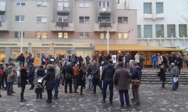 Protest la Satu Mare6
