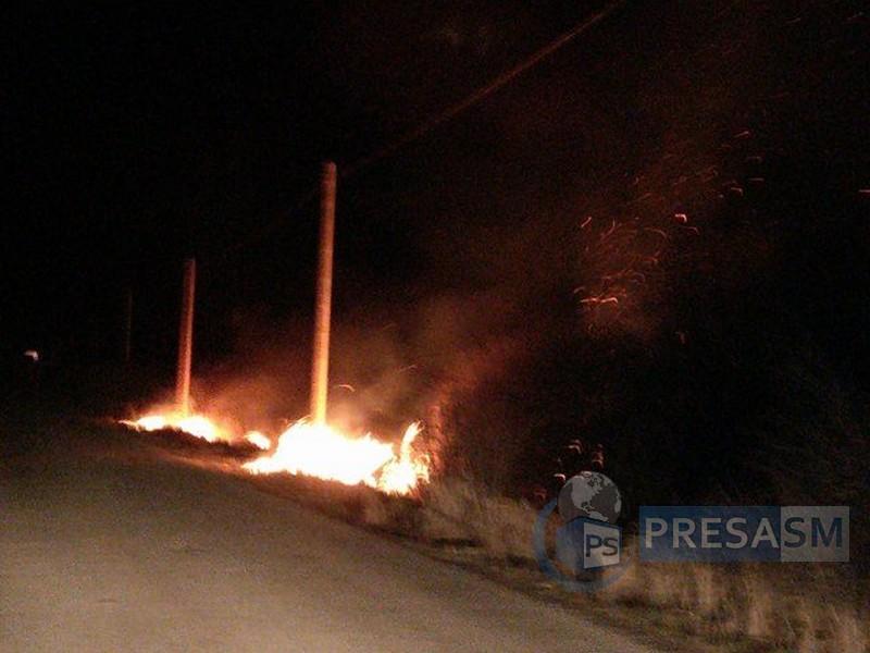 incendiu drum (2)
